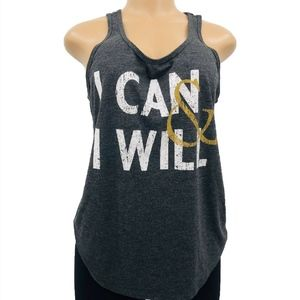 I Can & I Will Racerback Tank Top